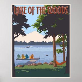 森の湖 ポスター