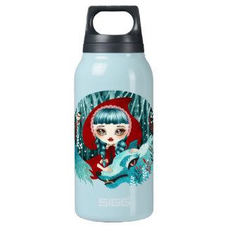 森の熱のボトルの赤 断熱ウォーターボトル