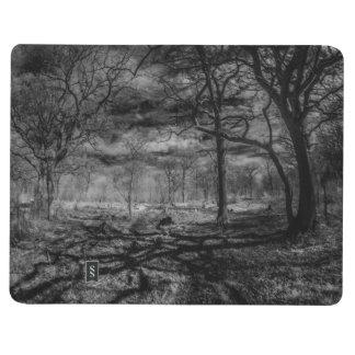 森の赤外線景色の影 ポケットジャーナル