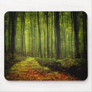 森の道 マウスパッド