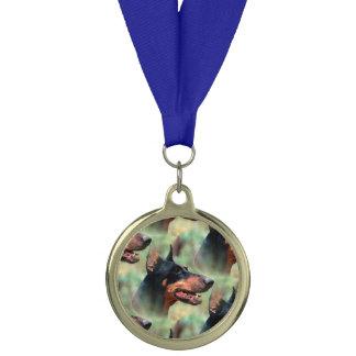 森の(犬)ドーベルマン・ピンシェル メダル