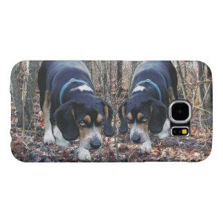 森を捜しているビーグル犬 SAMSUNG GALAXY S6 ケース