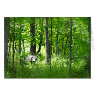 森カードのベンチ カード
