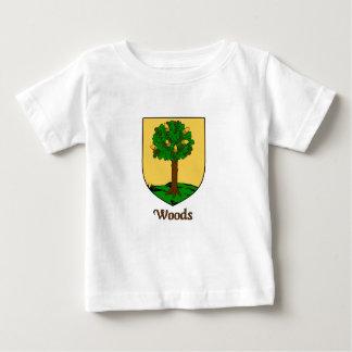 森家族の盾 ベビーTシャツ