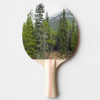 森林および山場面かい 卓球ラケット