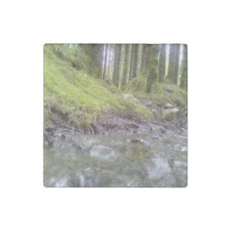 森林および水 ストーンマグネット