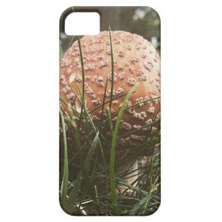 森林きのこ iPhone SE/5/5s ケース