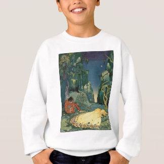 森林で眠るViolette スウェットシャツ
