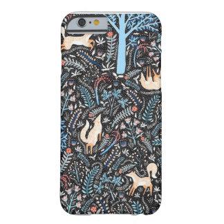森林のキツネ BARELY THERE iPhone 6 ケース