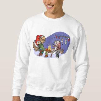 森林のクリスマス スウェットシャツ