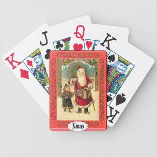 森林のサンタ-カードを遊ぶこと バイスクルトランプ