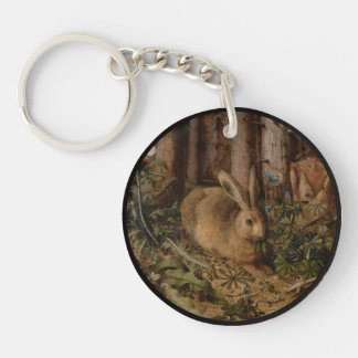 森林のノウサギ キーホルダー