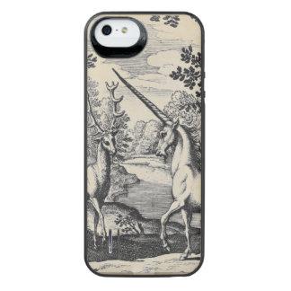 森林のユニコーン iPhone SE/5/5sバッテリーケース
