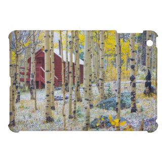 森林の壮大なメサの孤独な小屋 iPad MINIケース