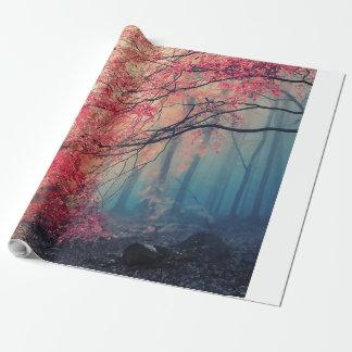 森林の夏そして冬 包装紙