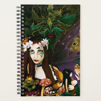 森林の女性 プランナー手帳