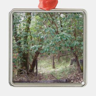 森林の枝 メタルオーナメント