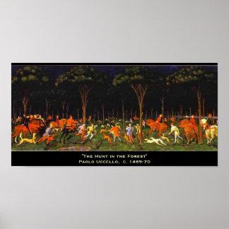森林の狩り ポスター
