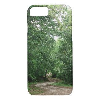 森林の道 iPhone 8/7ケース