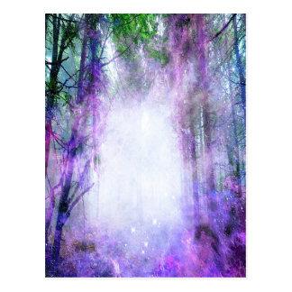 森林の魔法の入口 ポストカード