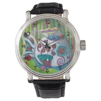 森林の魚の魔法の大邸宅 腕時計