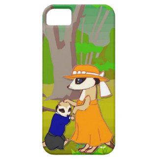 森林のMeerkatの子供 iPhone SE/5/5s ケース