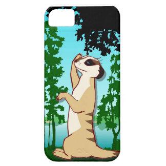 森林のMeerkat iPhone SE/5/5s ケース