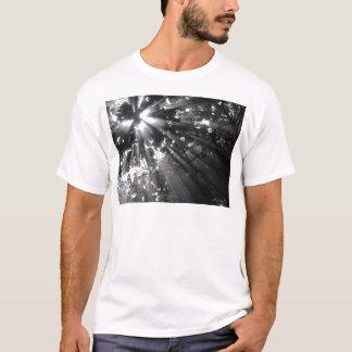 森林のSunrays Tシャツ
