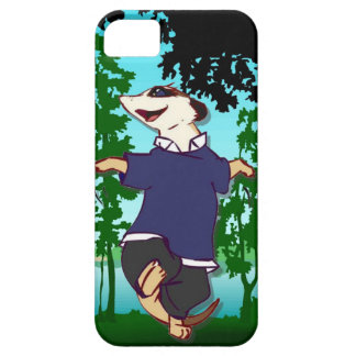 森林を通るMeerkatの踊り iPhone SE/5/5s ケース