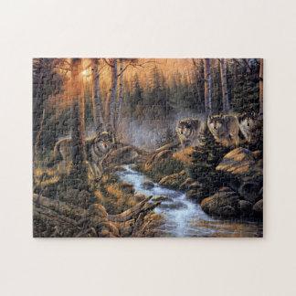森林オオカミのパズル ジグソーパズル