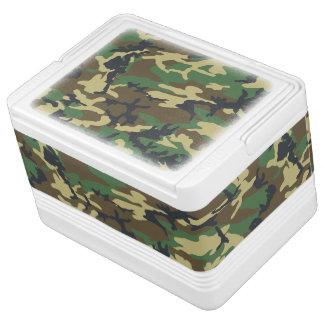 森林カムフラージュパターン クールボックス