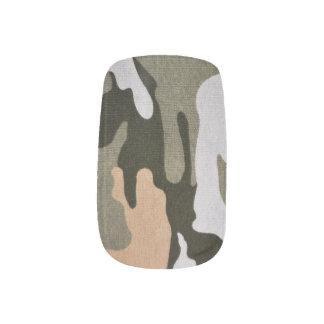 森林カムフラージュ01 ネイルアート