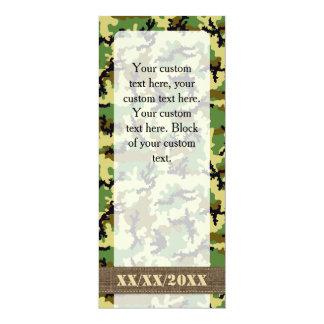 森林カムフラージュ カード