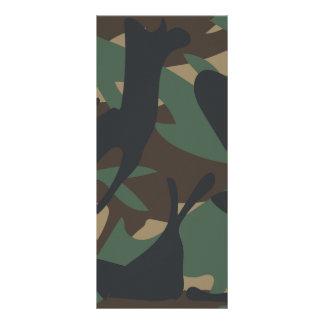 森林カムフラージュ ラックカード