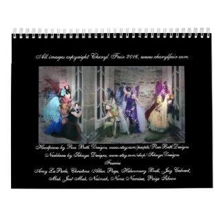 森林カレンダーの妖精の国 カレンダー