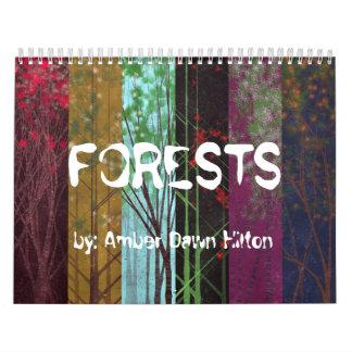 森林カレンダー カレンダー