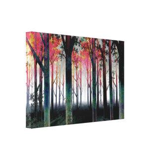 森林キャンバスのプリントの内なる光 キャンバスプリント