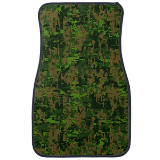 森林スタイルのデジタルカムフラージュ カーマット