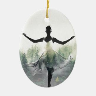 森林ダンサー セラミックオーナメント