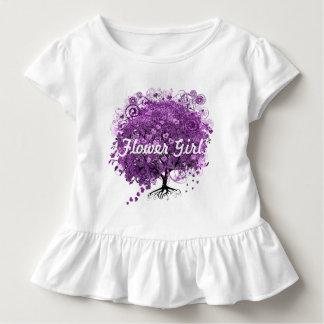 森林デキセドリン錠の葉の木の結婚式 トドラーTシャツ