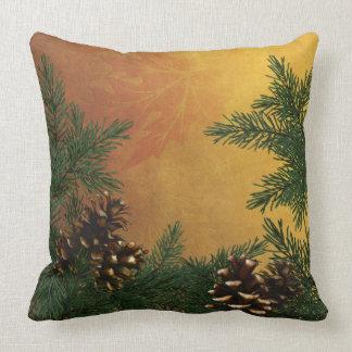 森林デザイナー枕のマツ円錐形 クッション