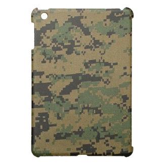 森林デジタルカムフラージュのiPadの場合 iPad Miniケース