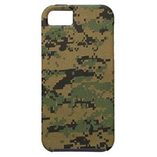 森林デジタルカムフラージュのiPhone 5の場合 iPhone SE/5/5s ケース