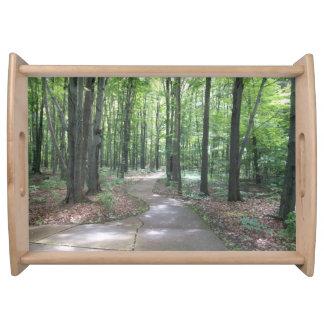 森林トレイの道 トレー