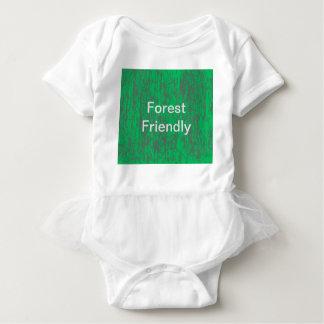 森林フレンドリーなチュチュのベビーのスーツ ベビーボディスーツ