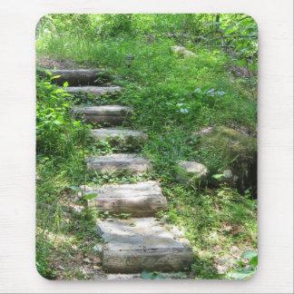 森林マウスパッドの階段 マウスパッド