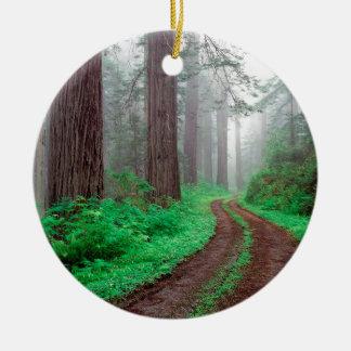 森林レッドウッド セラミックオーナメント