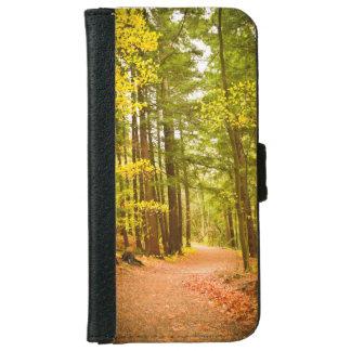 森林写真のiPhone 6sの柔らかい場合 iPhone 6/6s ウォレットケース