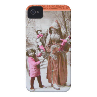 森林動揺してなvictorianaのサンタ Case-Mate iPhone 4 ケース