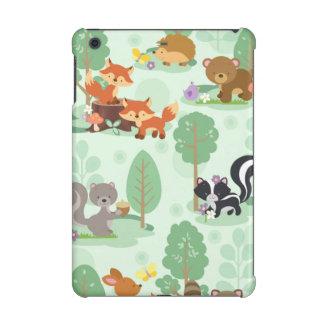 森林動物のiPad Mini 2およびiPad Mini 3の場合
